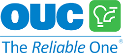 """OUC logo, """"The Reliable Ones"""""""