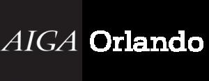 AIGA Orlando Logo Black