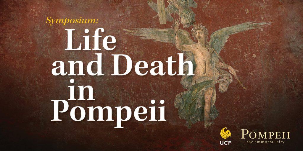 Pompeii Symposium graphic with artwork